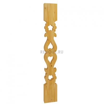 Плоская балясина - Б 004
